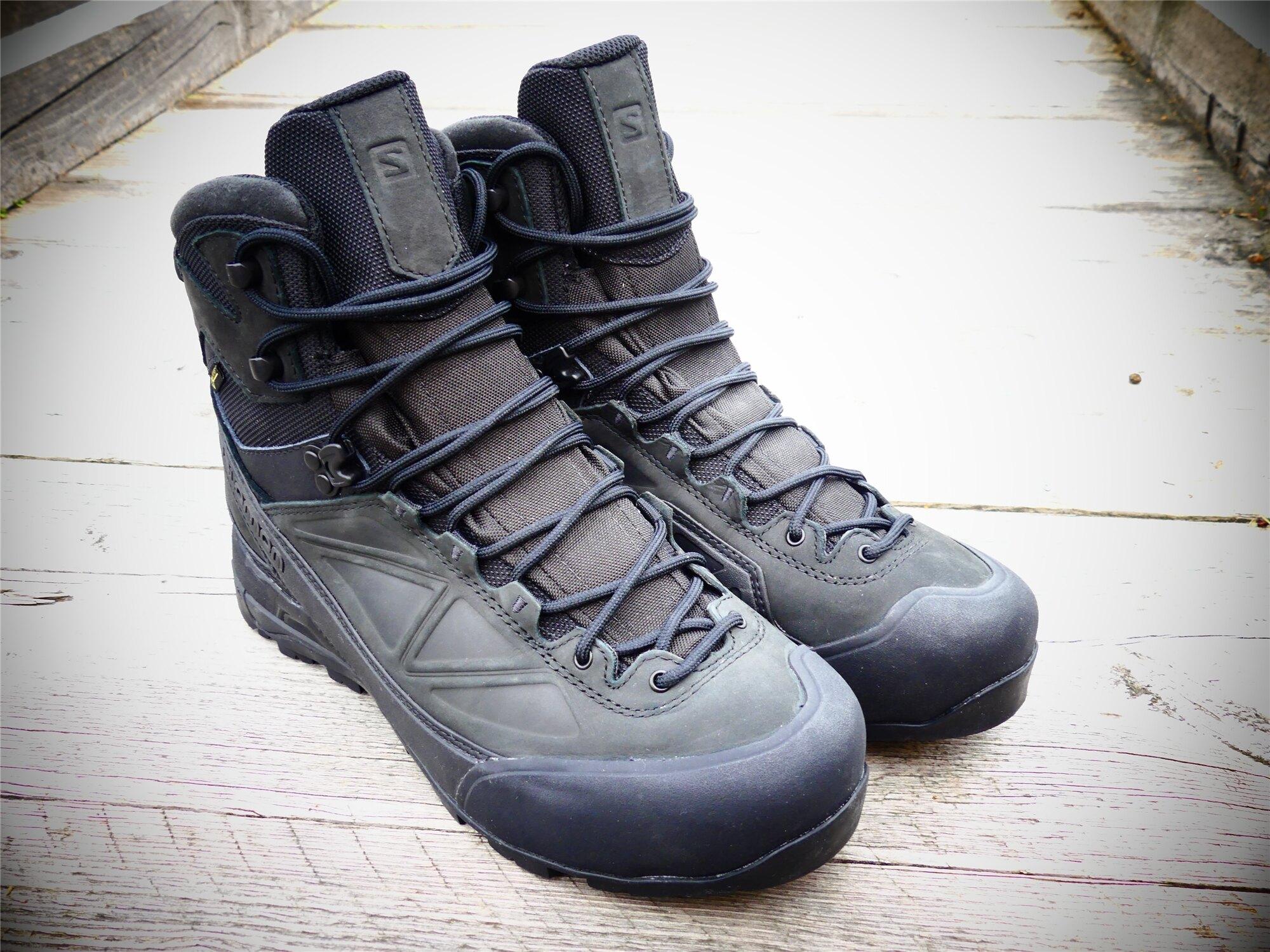 Topánky Salomon® X ALP MTN GTX Forces - čierne (Veľkosť: 9)