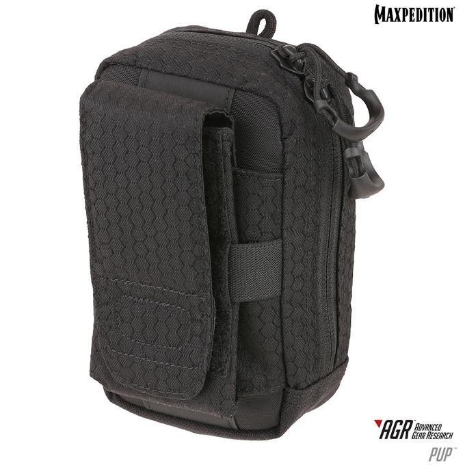 Pouzdro na mobil Phone Utility Pouch PUP AGR Maxpedition® – Čierna (Farba: Čierna)
