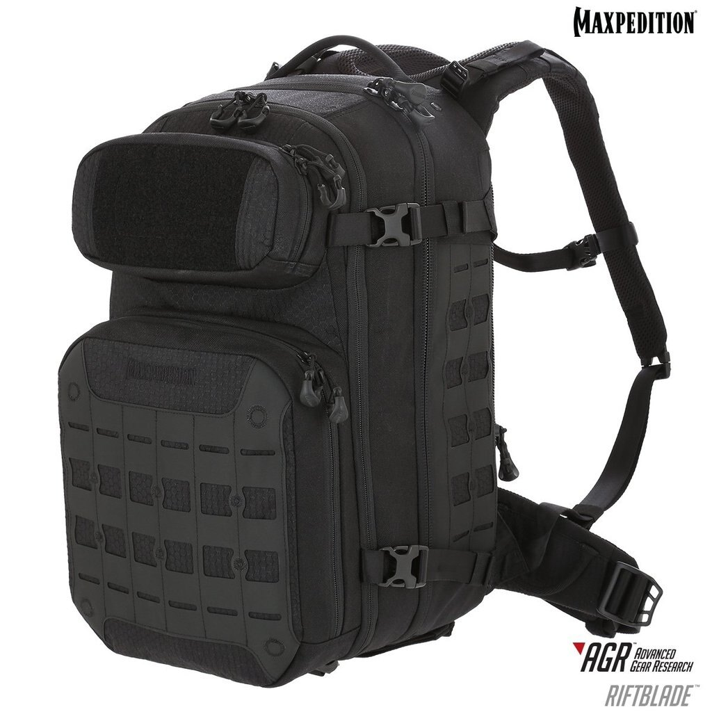 Batoh Riftblade™ CCW-Enabled Maxpedition® 30 l – Čierna (Farba: Čierna)