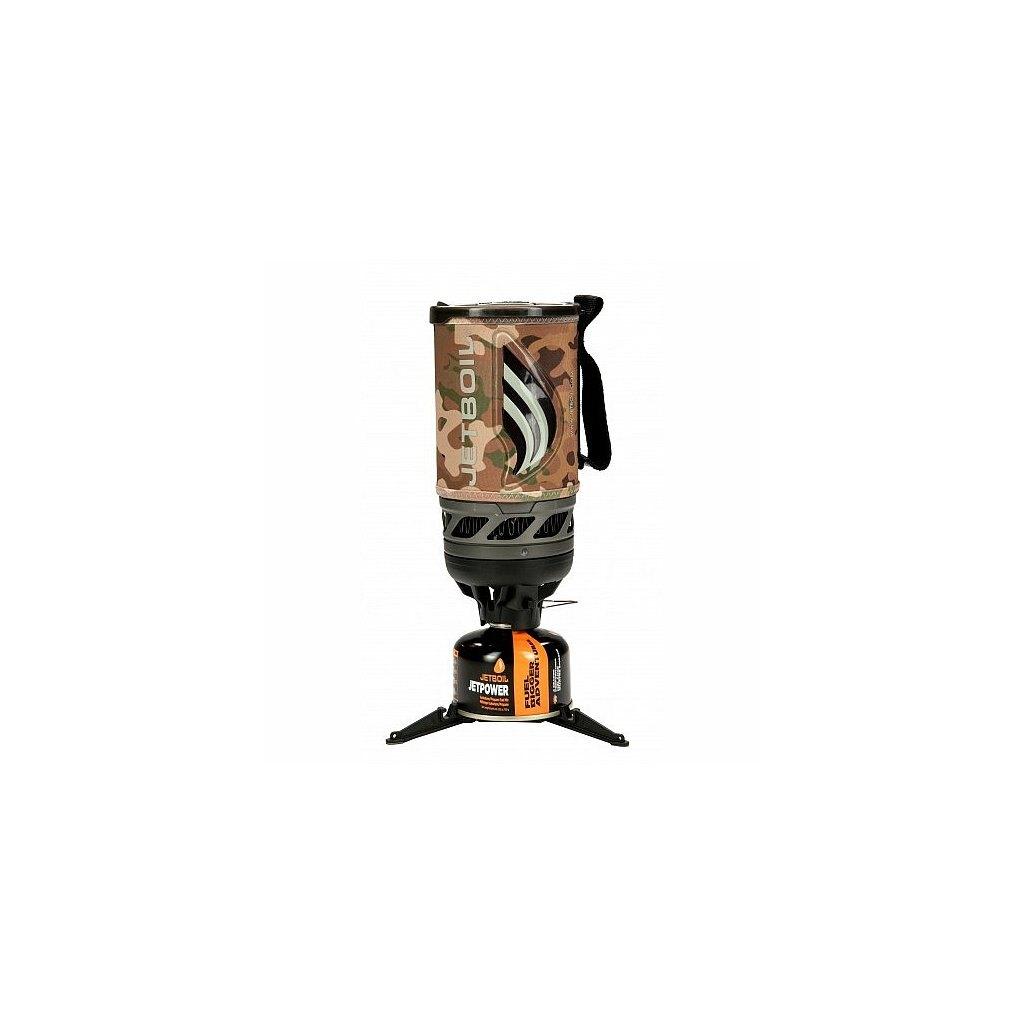 Plynový varič Flash JETBOIL® (Farba: Camogrom®, Varianta: JetCamo)