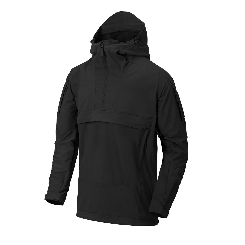 Softshellová bunda Anorak Mistral Helikon-Tex® – Čierna (Farba: Čierna, Veľkosť: S)