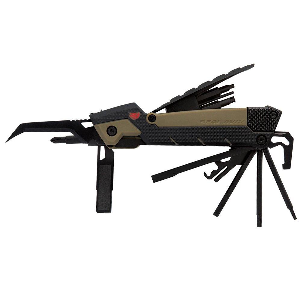 Multifunkčný nástroj 35 v 1 pre AR15 (Real Avid) (Farba: Čierna / khaki)