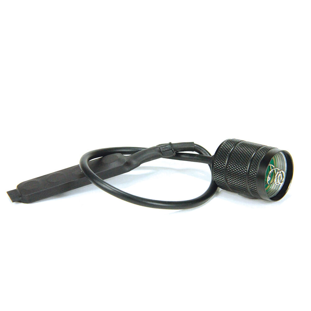 Diaľkový tlakový spínač PowerTac pre taktické LED baterky E9R-G4 a Warrior-G4 – Čierna (Farba: Čierna)