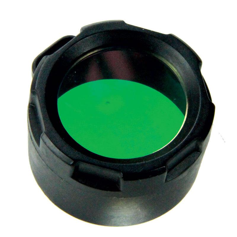 Filter na svietidlo Powertac® (pre modelov Cadet, E5, E9) – Zelená (Farba: Zelená)