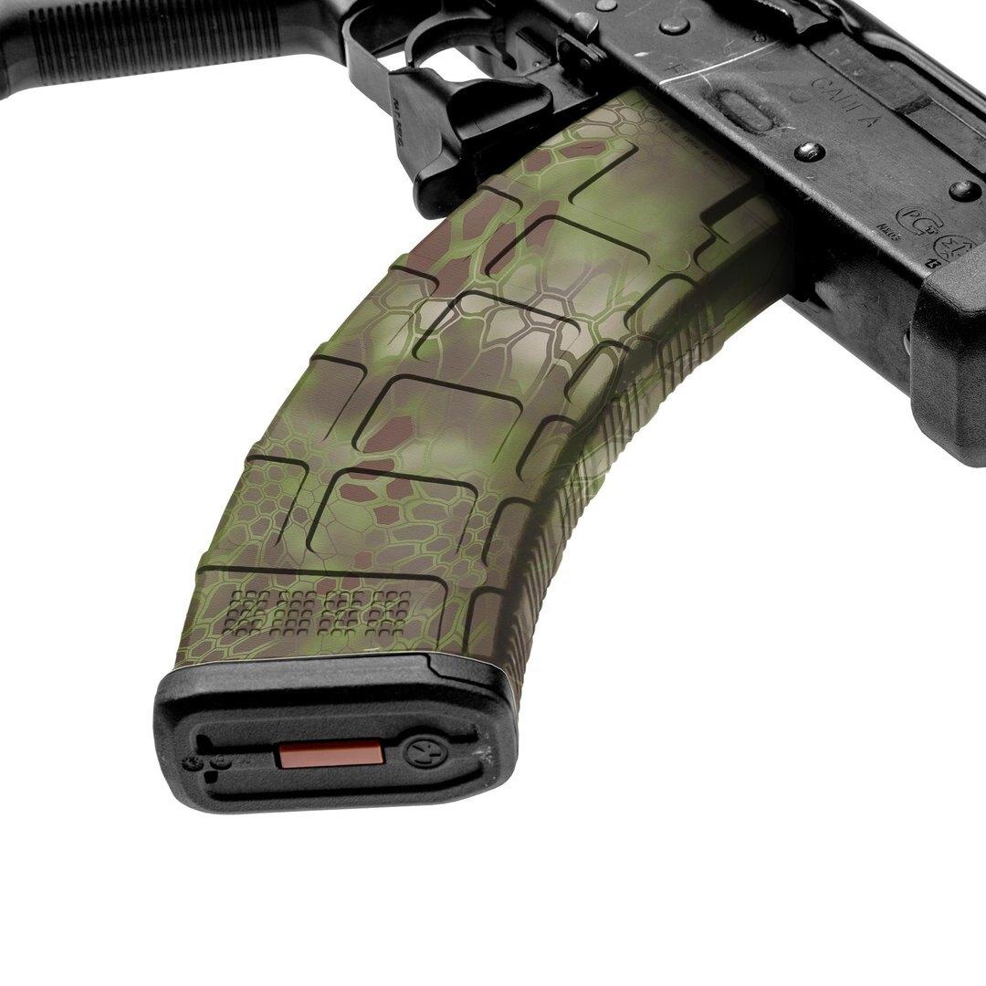 GunSkins® prémiový vinylový skin na zásobník AK-47 – Kryptek Mandrake™ (Farba: Kryptek Mandrake™)
