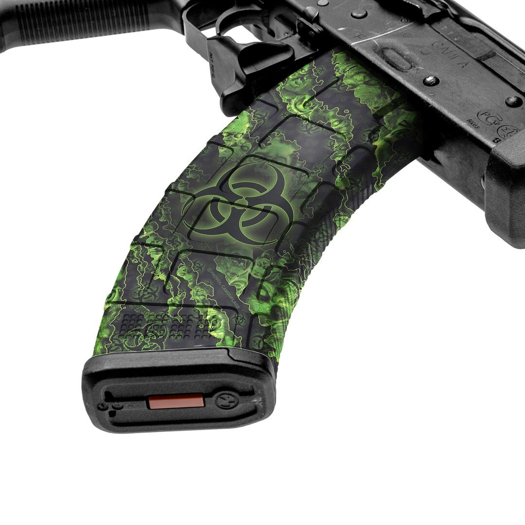 GunSkins® prémiový vinylový skin na zásobník AK-47 – Proveil® Reaper Z™ (Farba: Proveil® Reaper Z™)