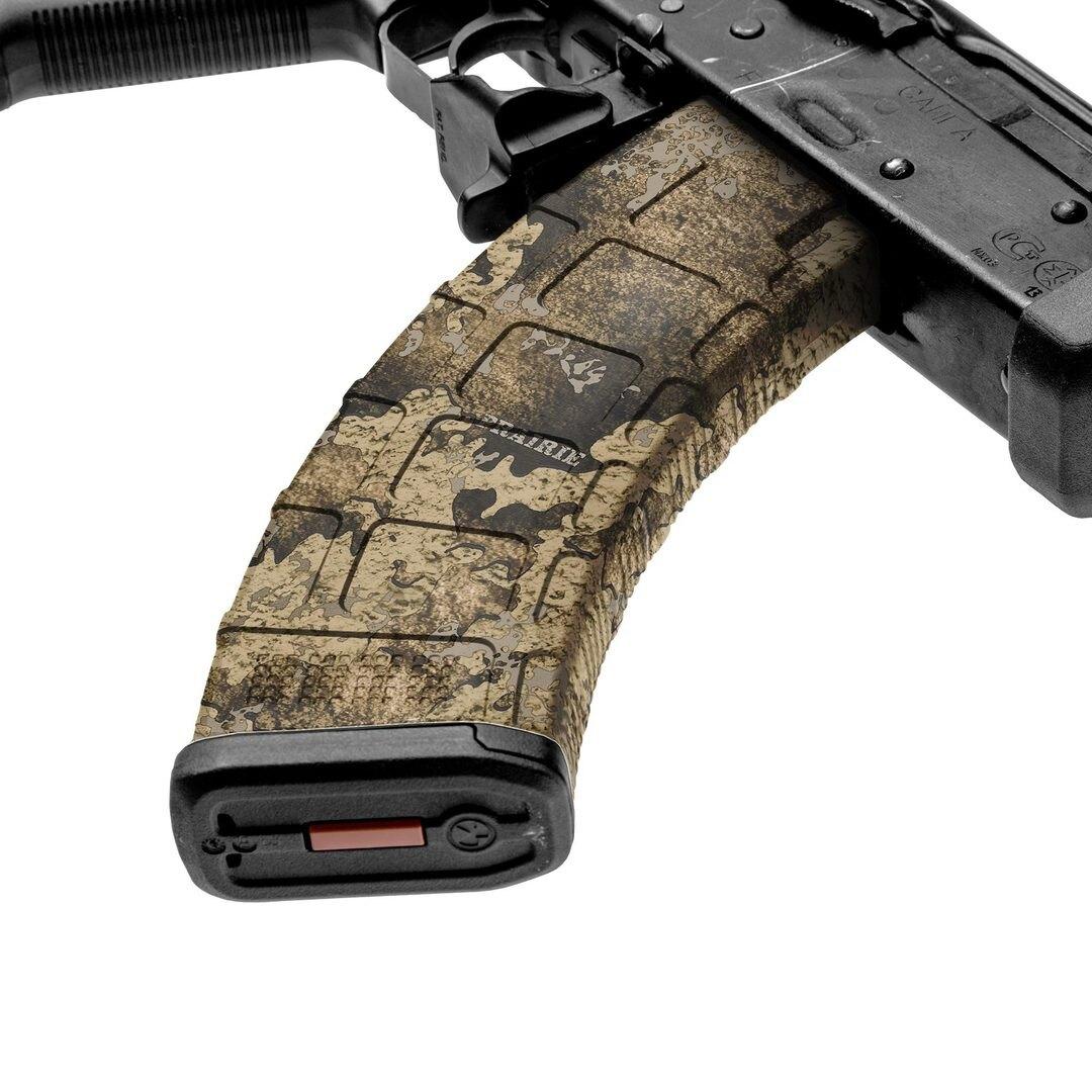 GunSkins® prémiový vinylový skin na zásobník AK-47 – TrueTimber® Prairie™ (Farba: TrueTimber® Prairie™)