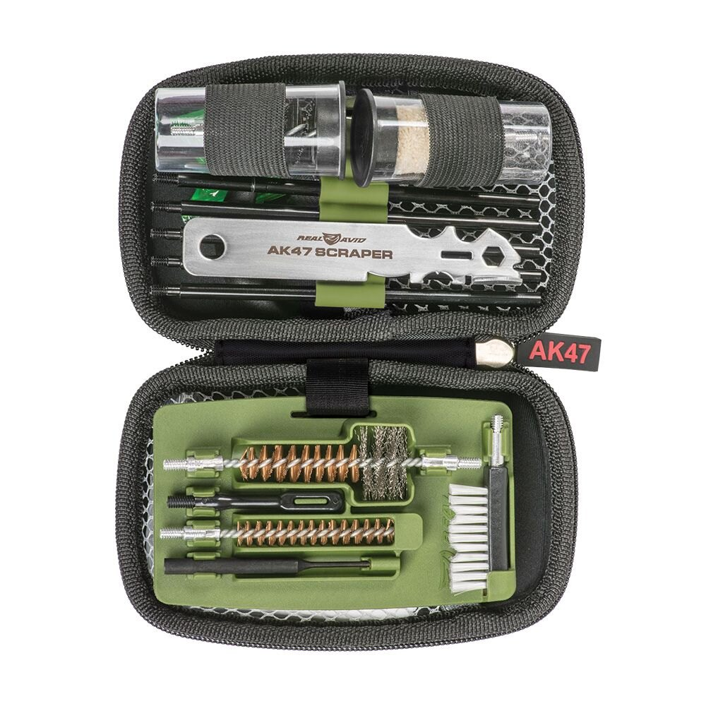 Čistiaca sada Gun Boss AK47 Real Avid® – Zelená (Farba: Zelená)