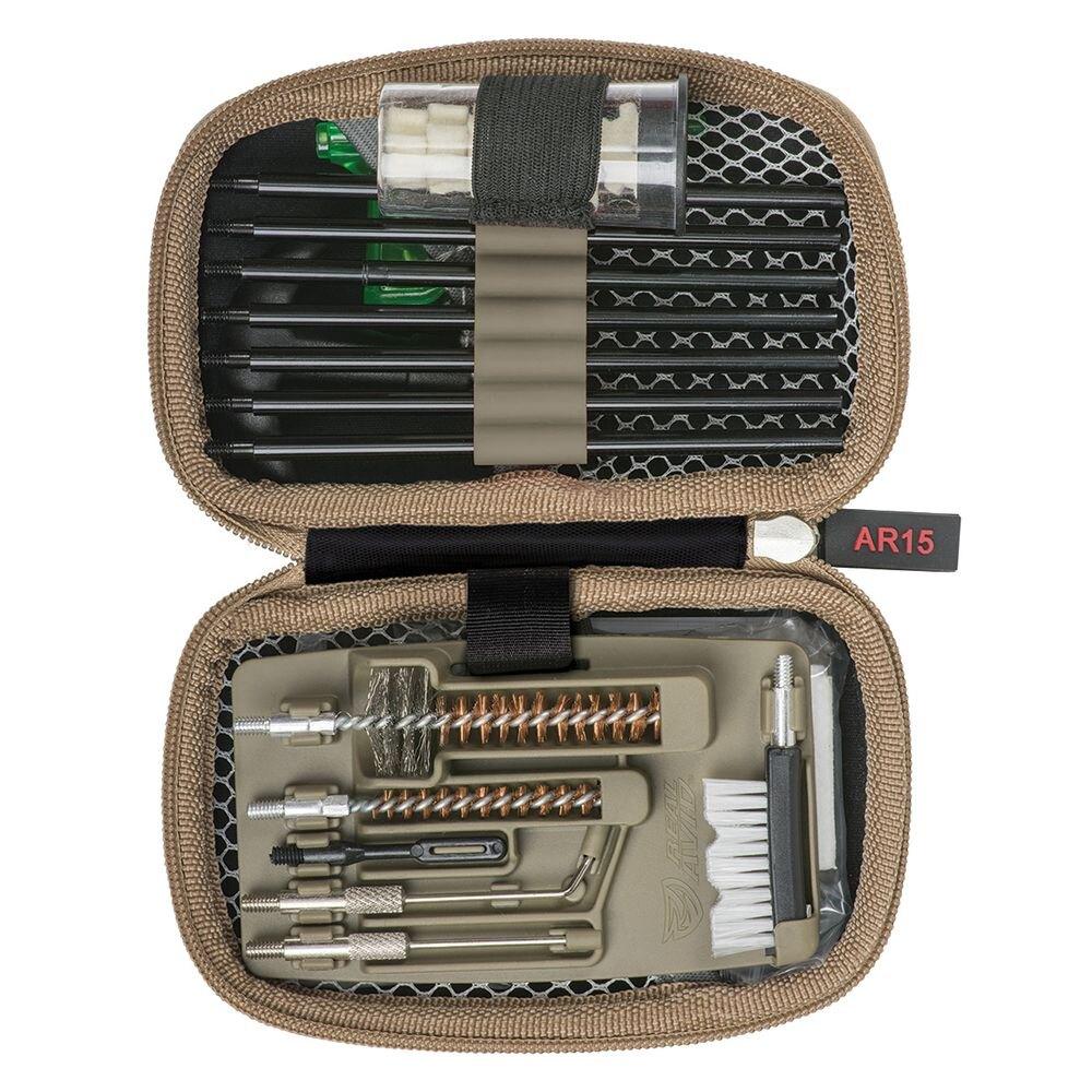 Real Avid® Gun Boss AR15, čistiaca sada – Khaki (Farba: Khaki)