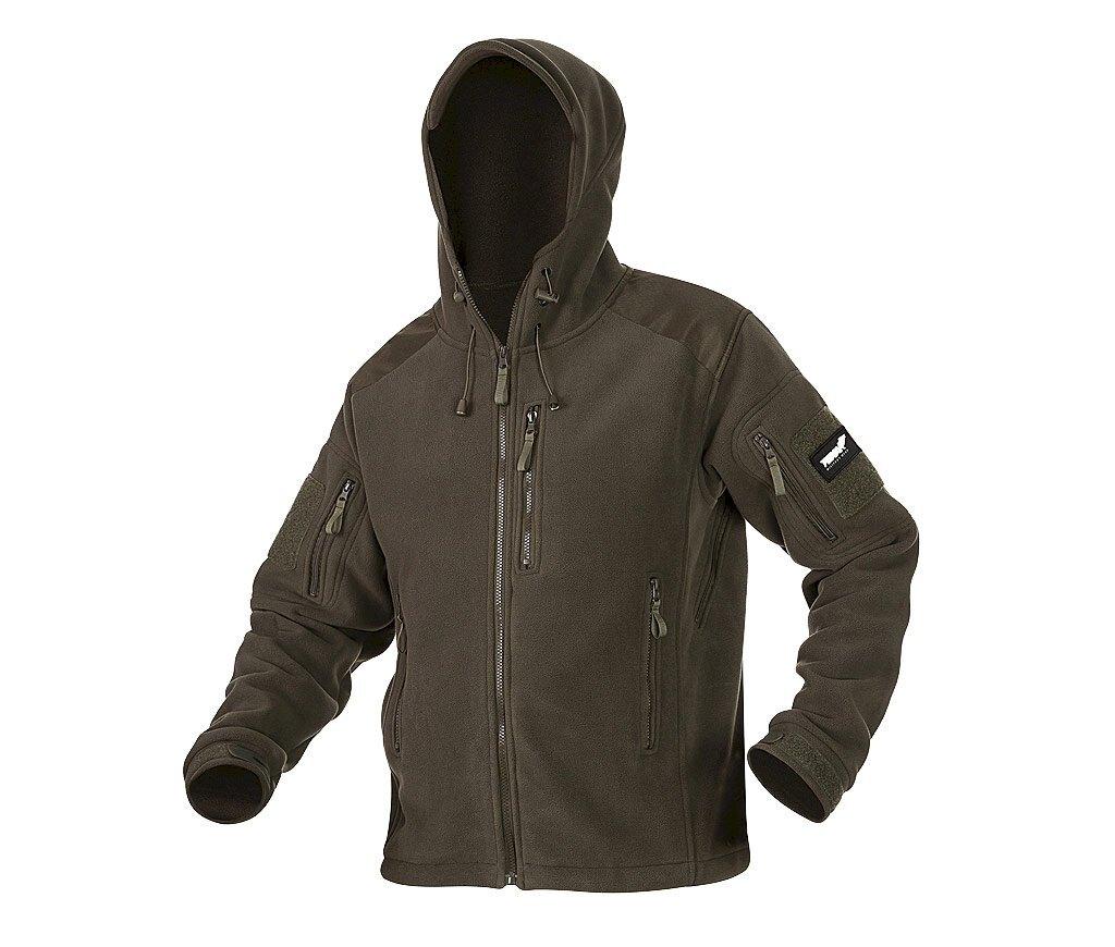 Fleecová bunda Texar® Husky - olív (Farba: Olive Green , Veľkosť: 3XL)