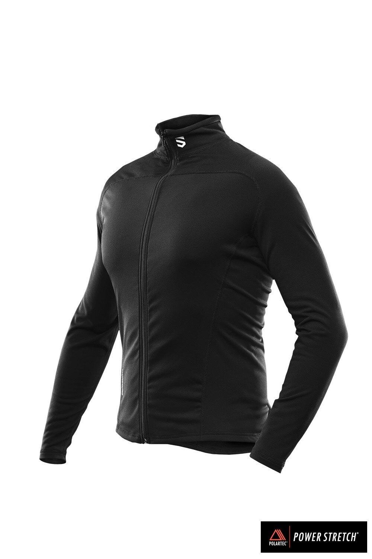Funkční mikina Patrik Scutum Wear® – Čierna (Farba: Čierna, Veľkosť: XL)
