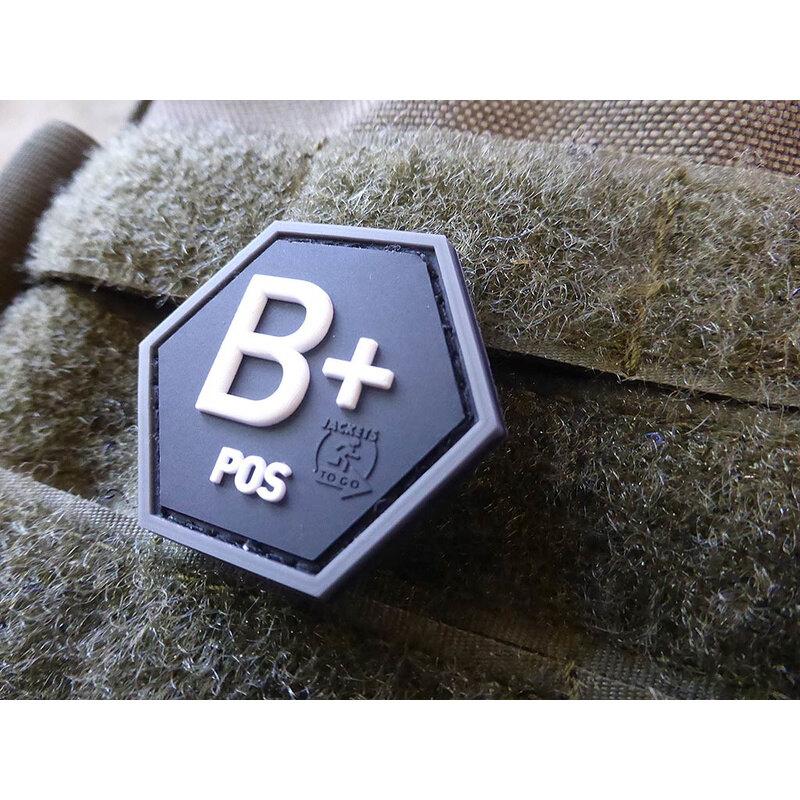 Nášivka JTG® krvná skupina B+ (Farba: Swat)