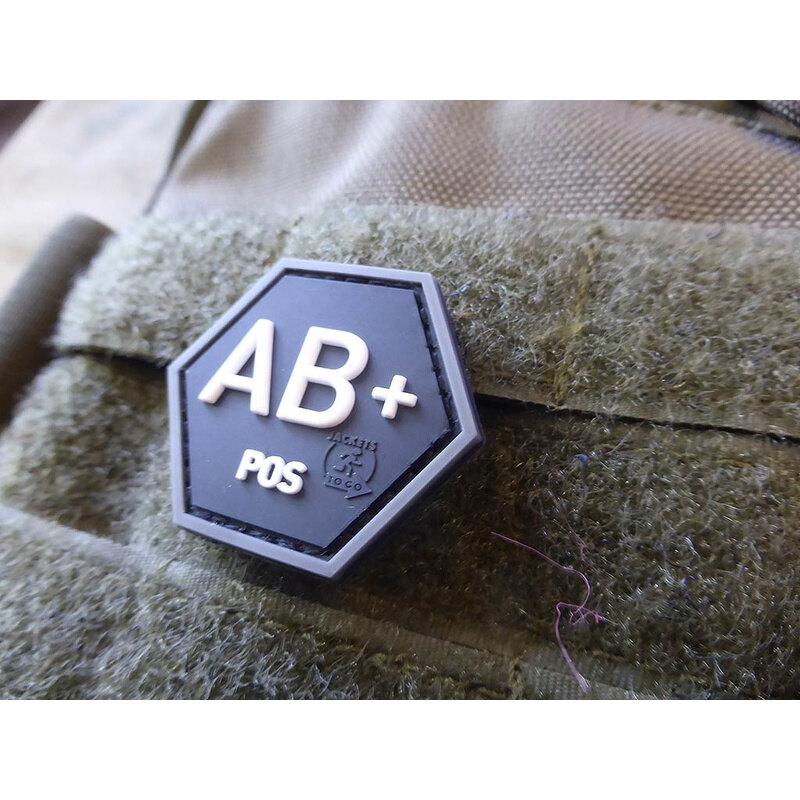 Nášivka JTG® krvná skupina AB+ (Farba: Swat)