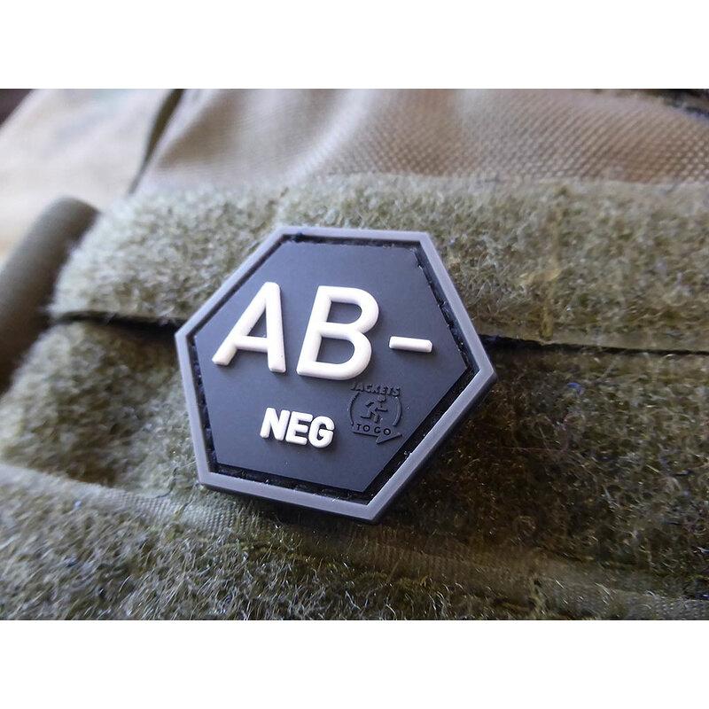 Nášivka JTG® krvná skupina AB- (Farba: Swat)
