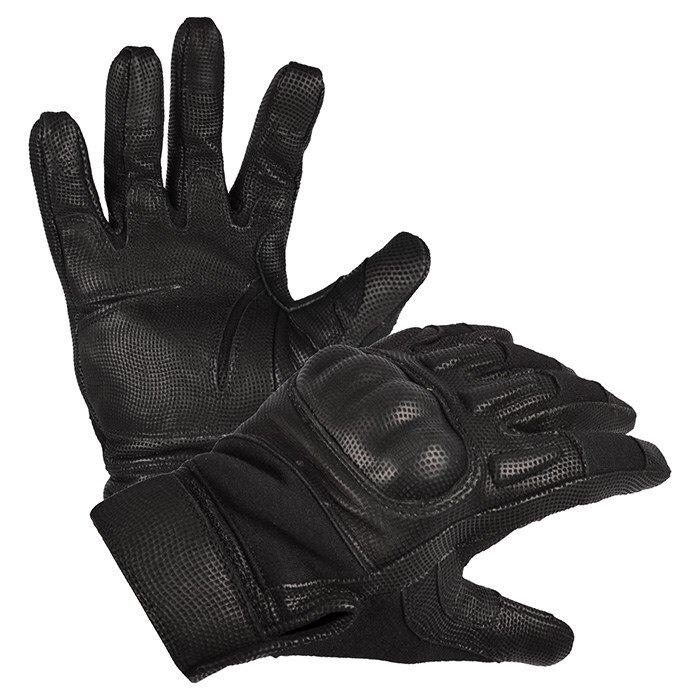 Rukavice Action Nomex Mil-tec® (Farba: Čierna, Veľkosť: S)