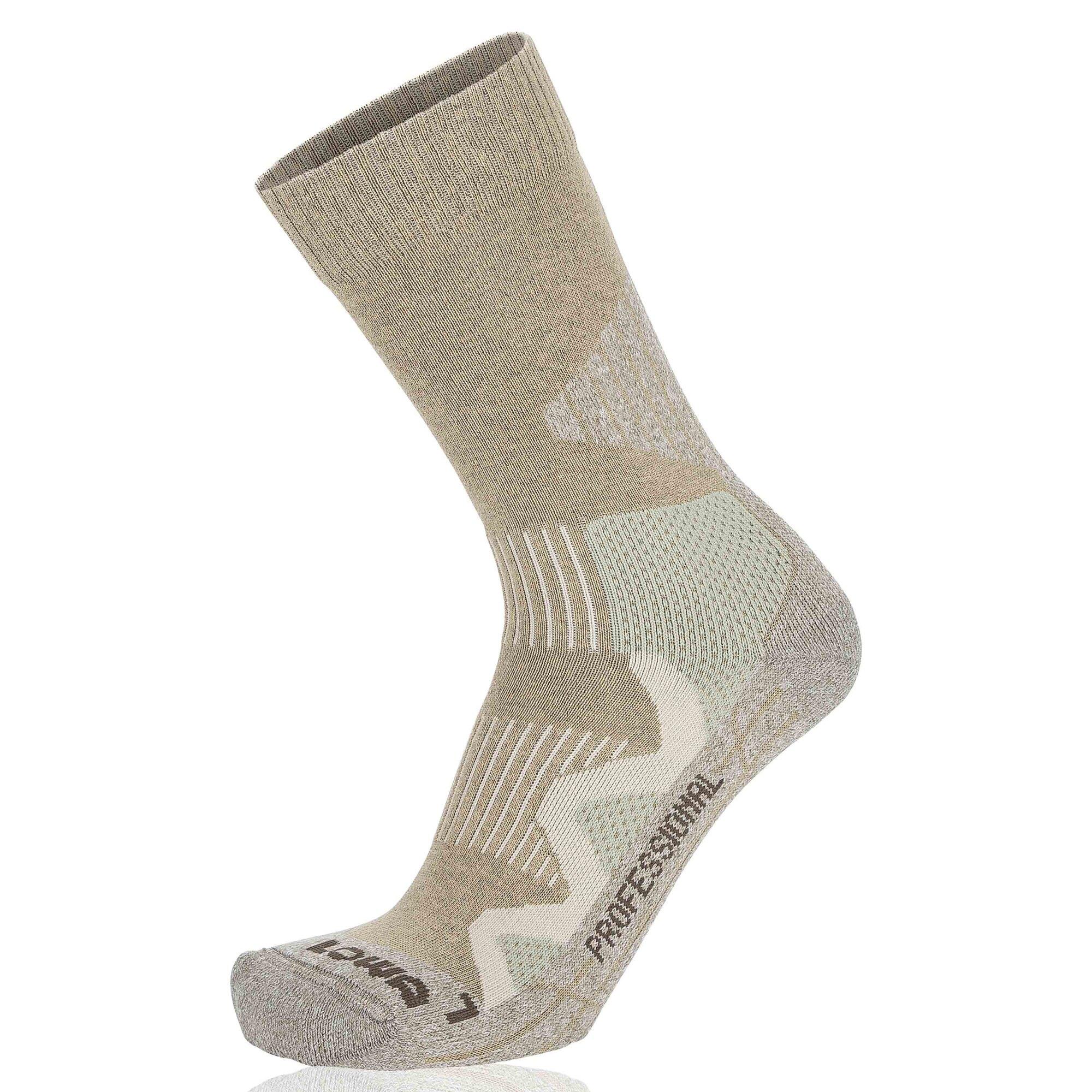 Ponožky 3 Season Pro Lowa® (Farba: Čierna, Veľkosť: 39-40)