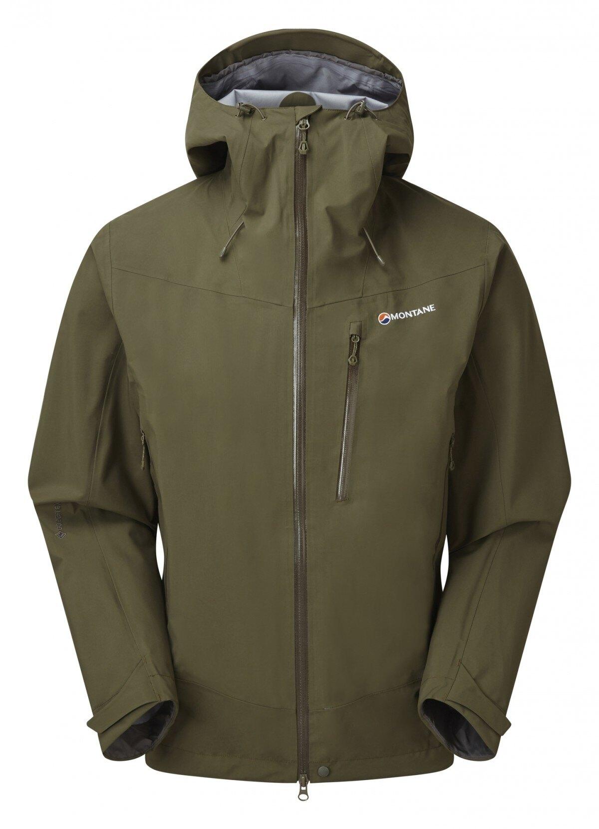 Bunda Alpine Spirit Gore-Tex® Montane® – Zelená (Farba: Zelená, Veľkosť: XXL)