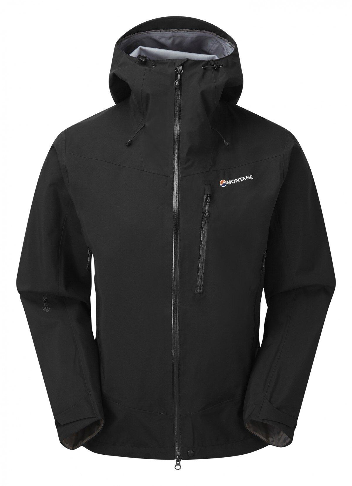 Bunda Alpine Spirit Gore-Tex® Montane® – Čierna (Farba: Čierna, Veľkosť: XL)