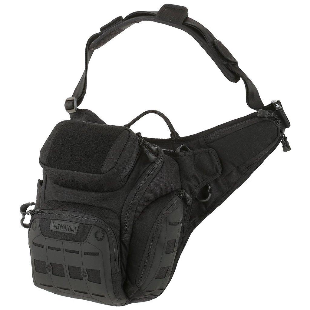 Taška na rameno AGR™ Wolfspur™ V2.0 MAXPEDITION® – Čierna (Farba: Čierna)