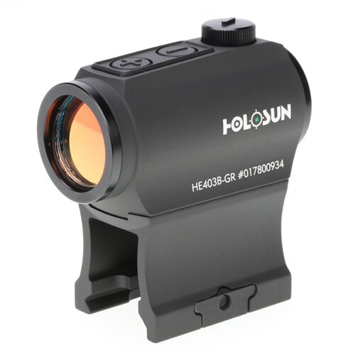 Micro kolimátor HS403B-GR Holosun® – Čierna (Farba: Čierna)