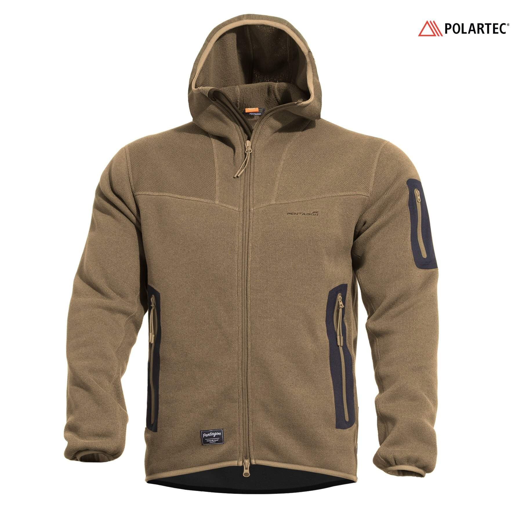 Mikina Falcon Pro Sweater Polartec® Pentagon® – Coyote (Farba: Coyote, Veľkosť: XXL)