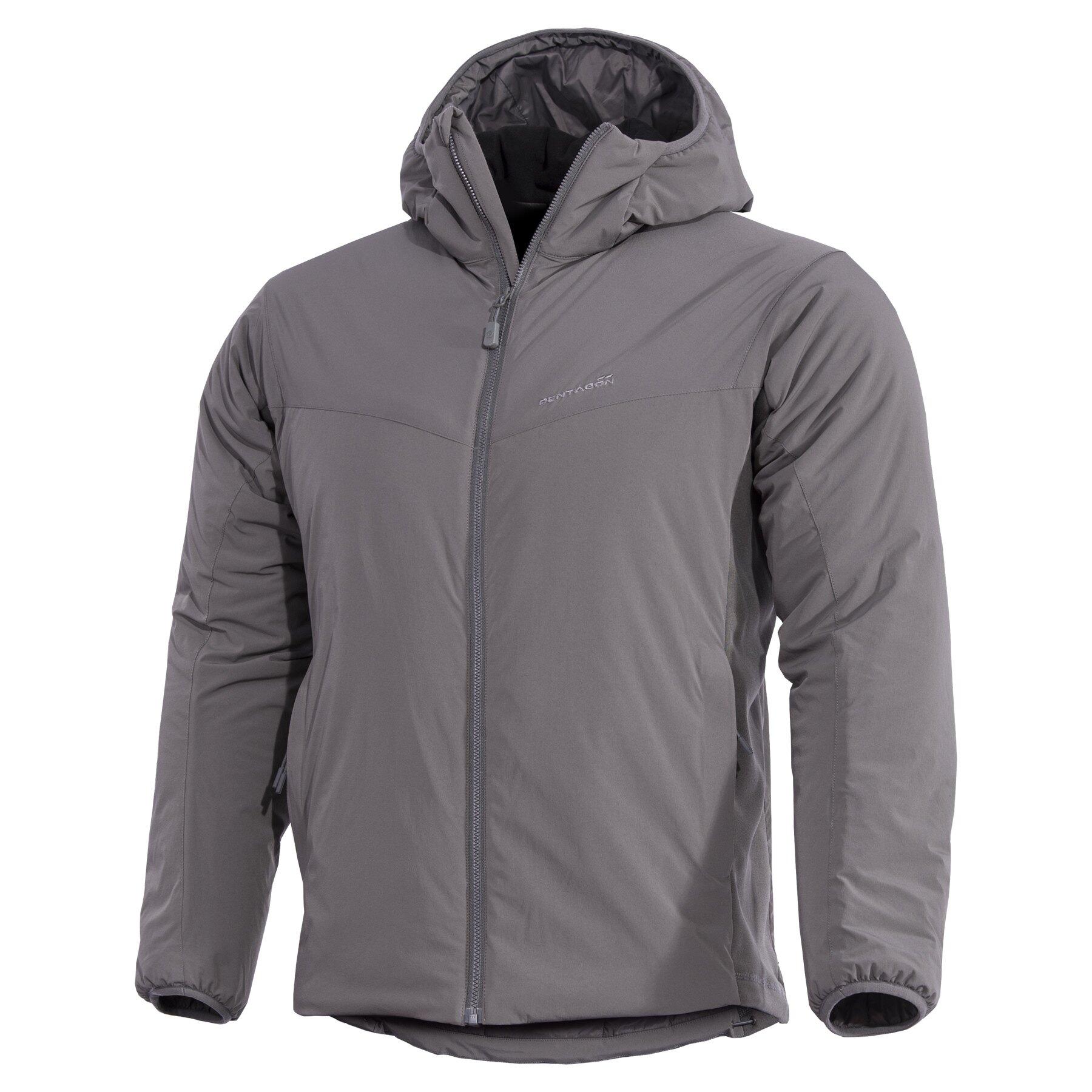 Ľahká zateplená bunda Panthiras Pentagon® – Cinder Grey (Farba: Cinder Grey, Veľkosť: 3XL)