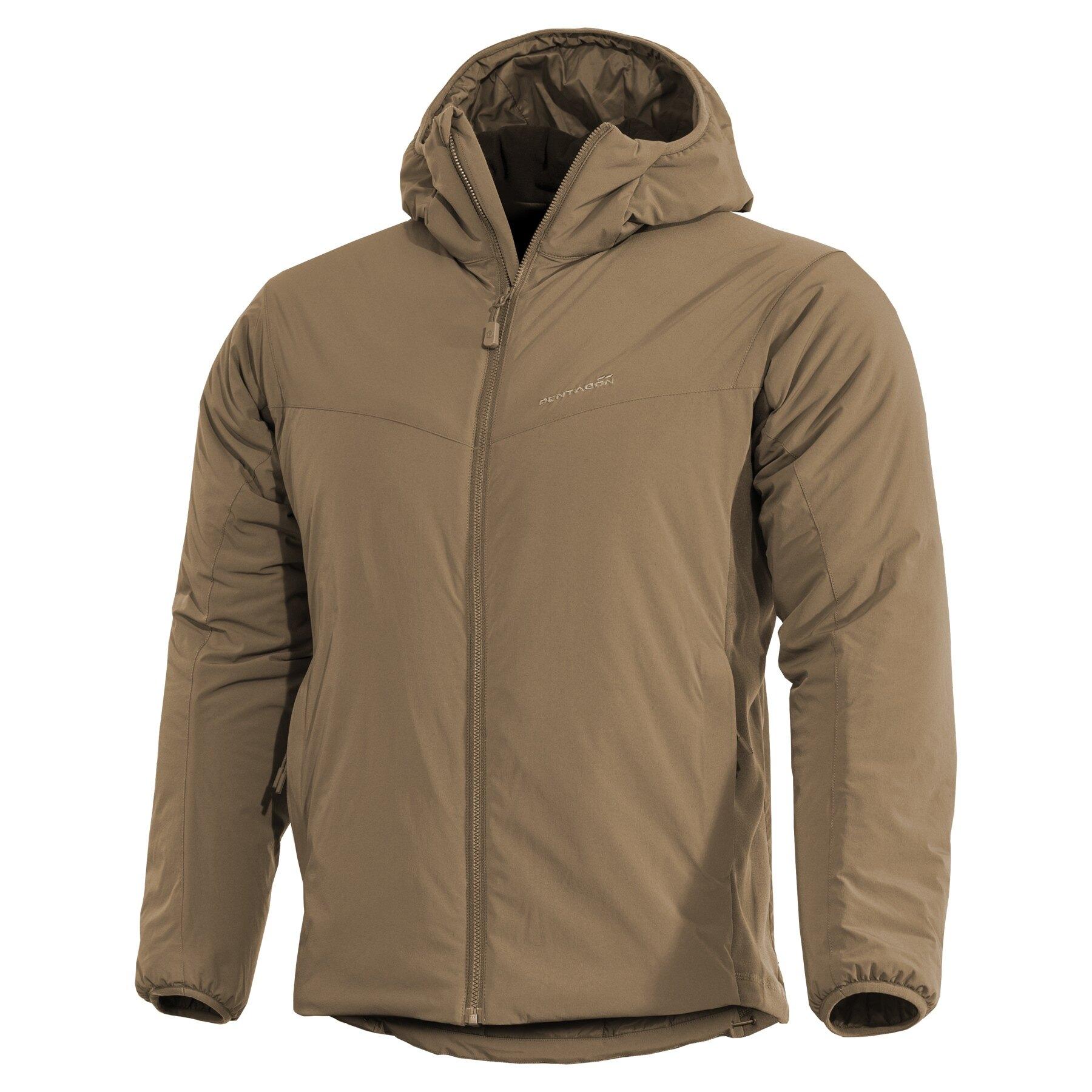 Ľahká zateplená bunda Panthiras Pentagon® – Coyote (Farba: Coyote, Veľkosť: M)