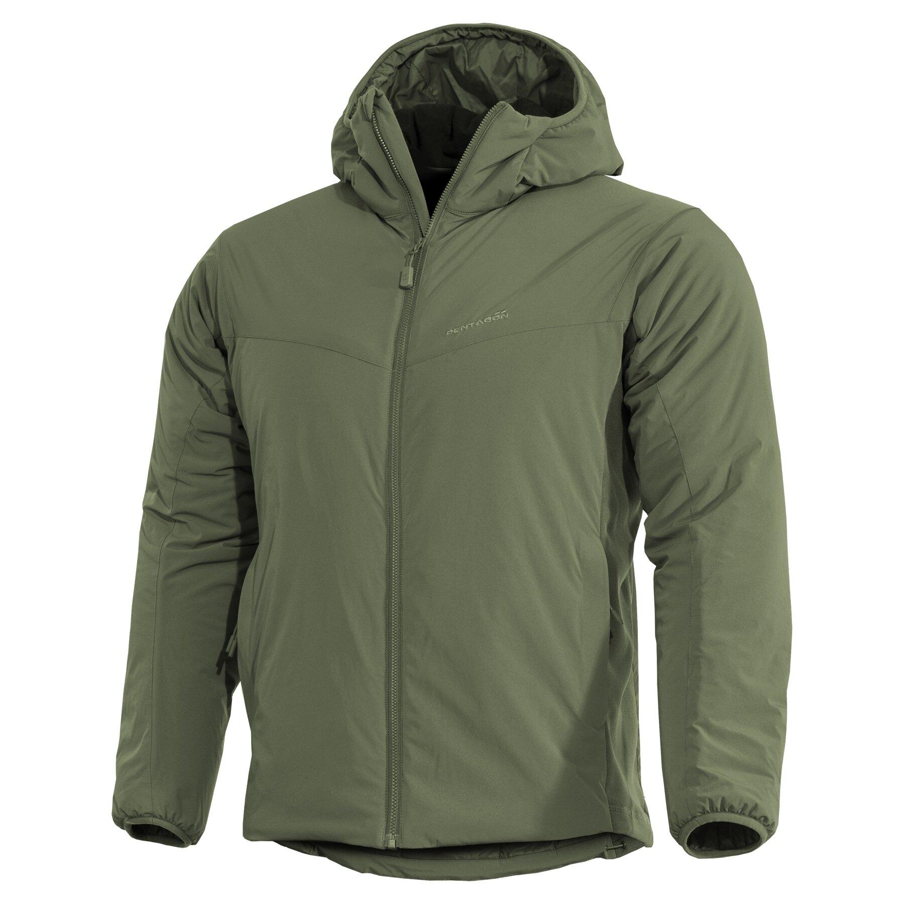 Ľahká zateplená bunda Panthiras Pentagon® – Camo Green (Farba: Camo Green, Veľkosť: 4XL)