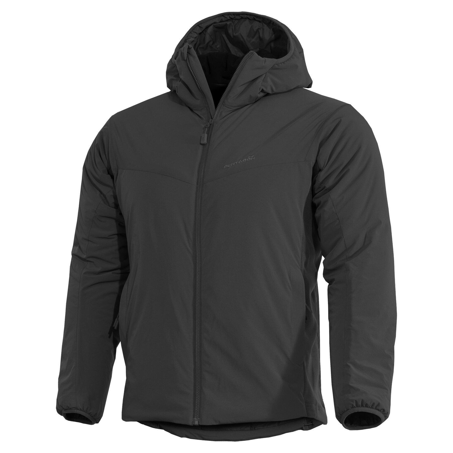 Ľahká zateplená bunda Panthiras Pentagon® – Čierna (Farba: Čierna, Veľkosť: 3XL)