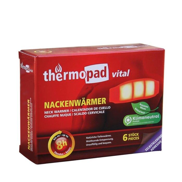 Ohrievacia podložka na ramená - krk ThermoPad® (Farba: Viacfarebná)