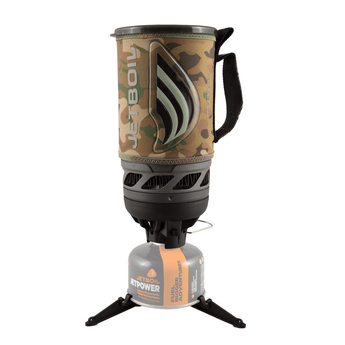 Plynový vařič Flash JETBOIL® – Camogrom® maskovanie (Farba: Camogrom®, Varianta: JetCamo)