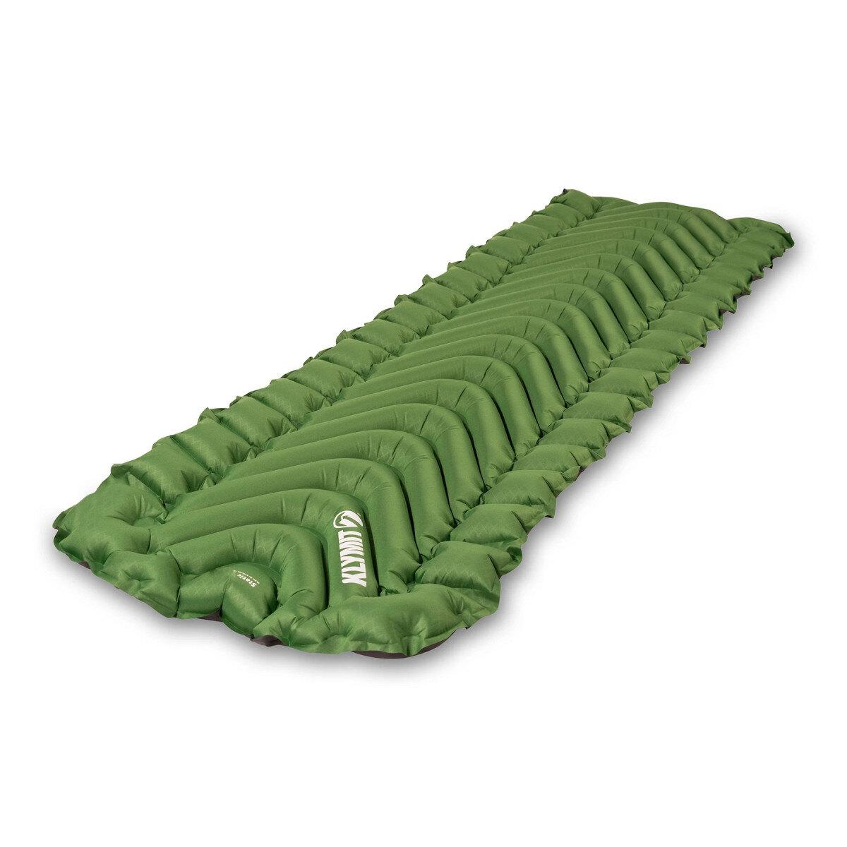 Nafukovacia karimatka Static V Klymit® – Zelená (Farba: Zelená)