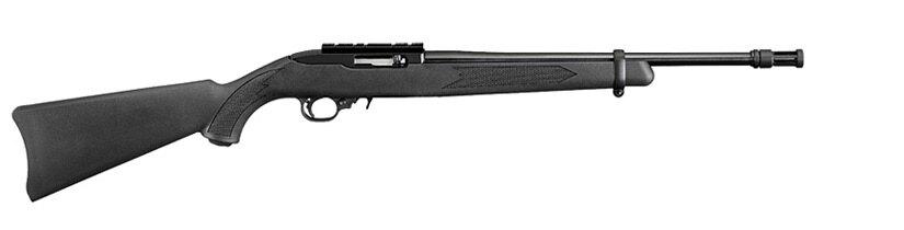 Malokalibrovka Tactical 10/22FS Ruger® / kalibru .22LR (Farba: Čierna)