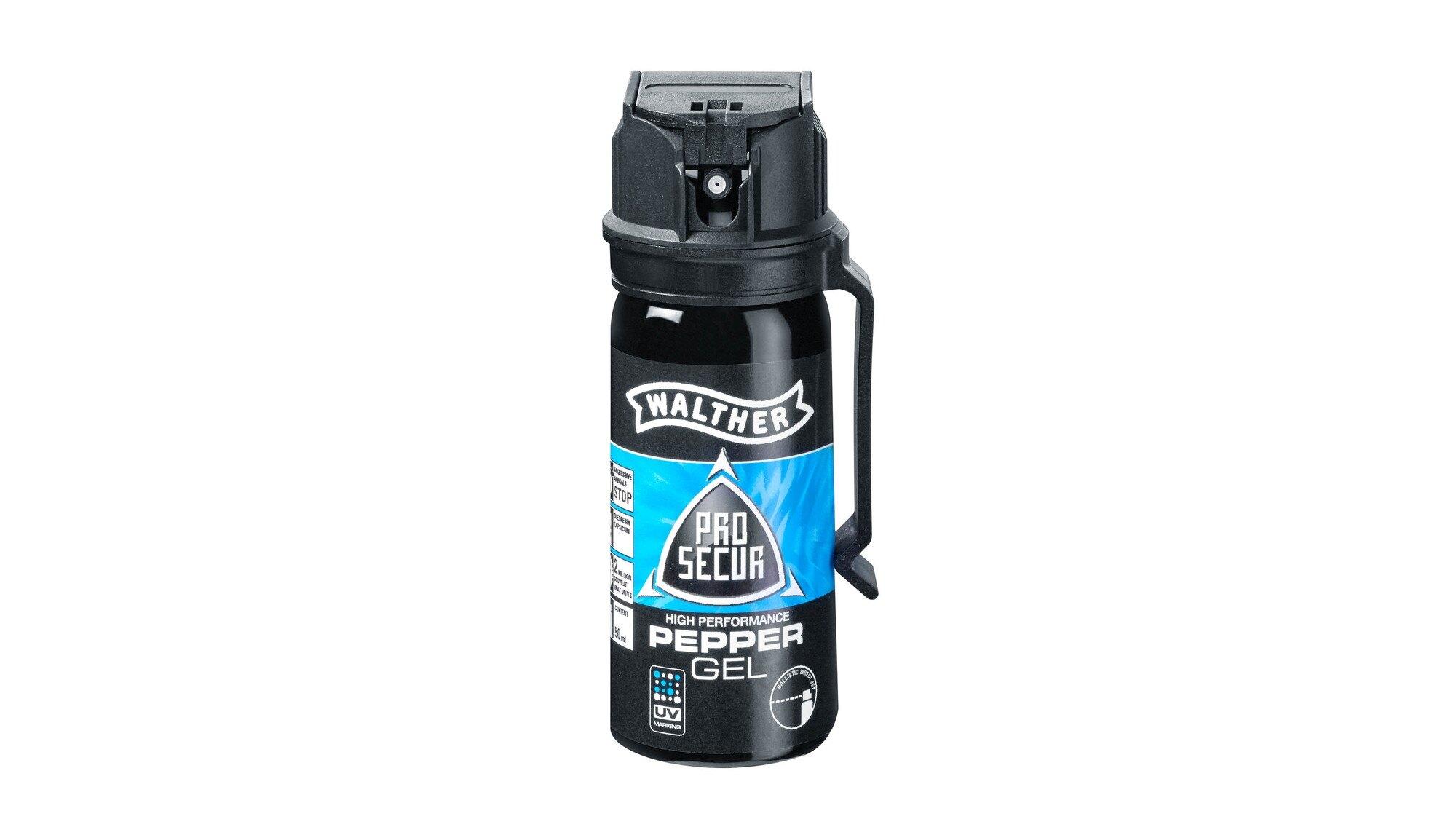 Obranný sprej JET ProSecur UV Walther® 50 ml (Farba: Čierna)
