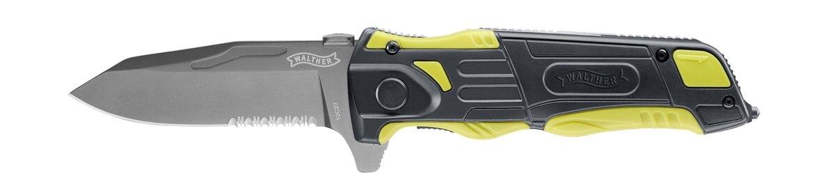 Zatvárací nôž Rescue Pro Walther® (Farba: Viacfarebná)