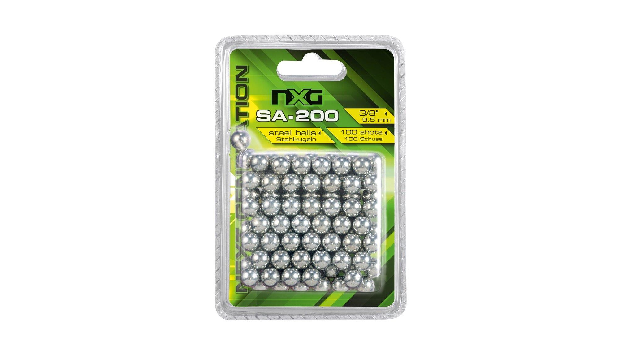 Oceľové guličky do praku NXG 200 Umarex® (Farba: Strieborná)