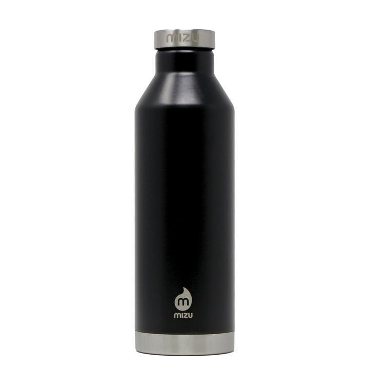 Nerezová termoska V8 Enduro Mizu® 800 ml – Čierna (Farba: Čierna)