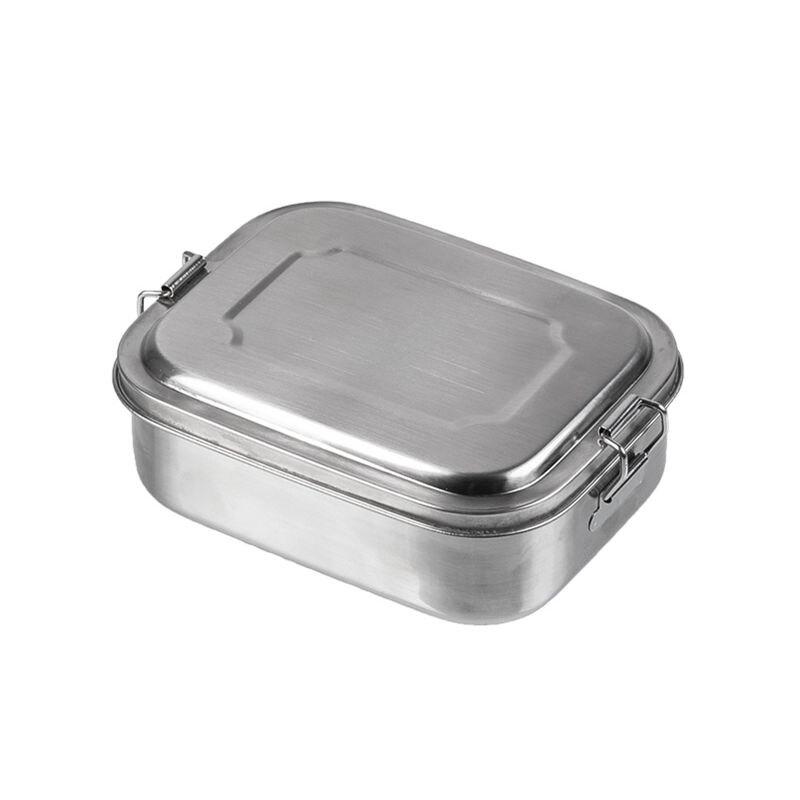 Nerezový jedálenský box Small Mil-Tec® (Farba: Strieborná)