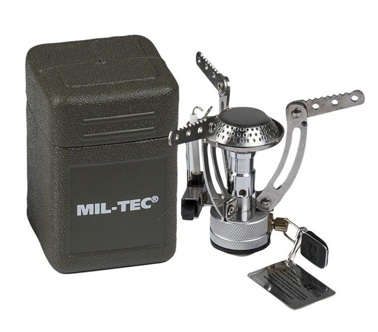 Turistický varič Spider Mil-Tec® (Farba: Strieborná)