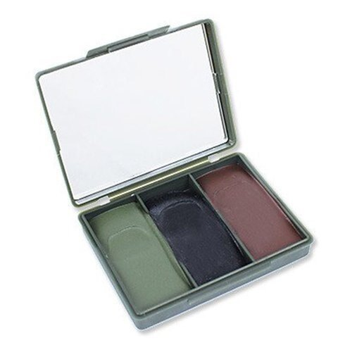 Maskovacie farby Compact NATO BCB® – olivovo zelená / čierna / hnedá (Farba: olivovo zelená / čierna / hnedá)