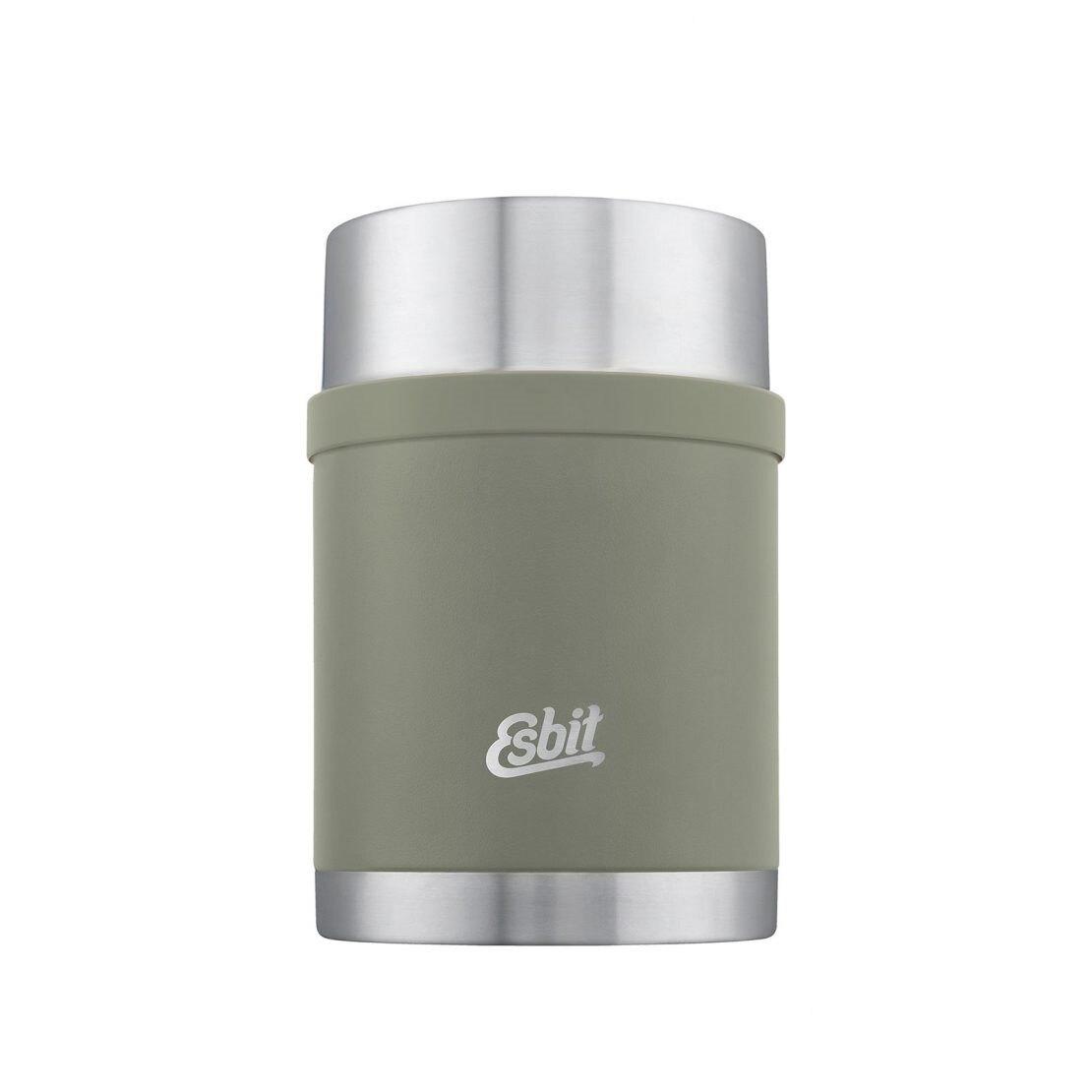 Nerezová termoska na jedlo Sculptor ESBIT® 0,75 l – Stone grey olive (Farba: Stone grey olive)