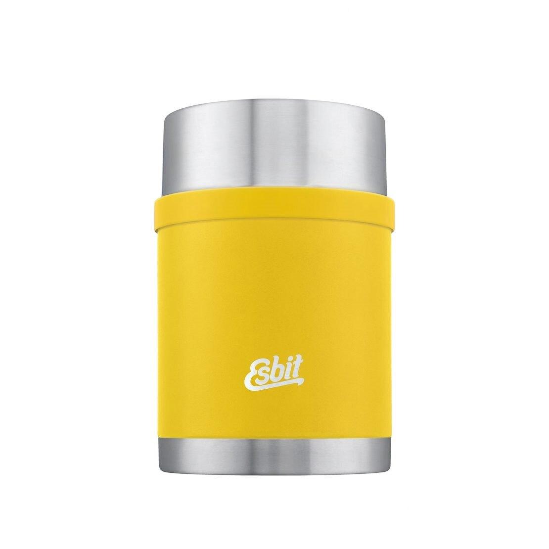 Nerezová termoska na jedlo Sculptor ESBIT® 0,75 l – Žltá (Farba: Žltá)