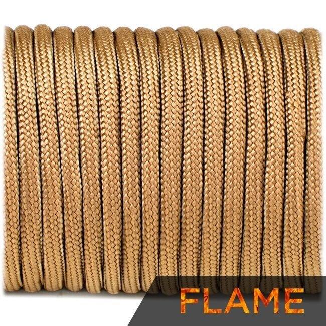 Multifunkčné lano Flame Cord 4 mm – Coyote Brown (Farba: Coyote Brown)