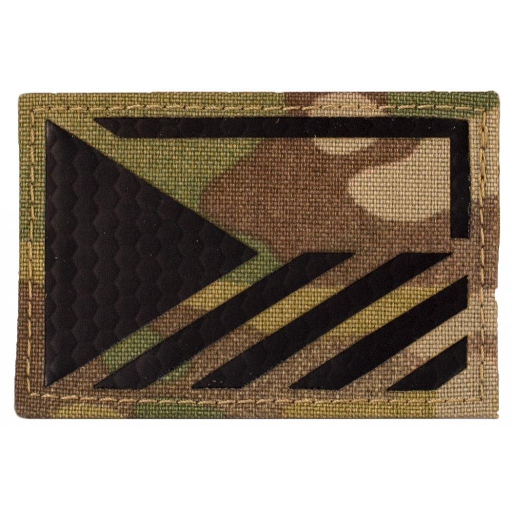 Vlajka ČR Combat Systems® rozlišovacia AČR IR - Multicam®, ľavý rukáv (Farba: Multicam®, Varianta: levá strana)