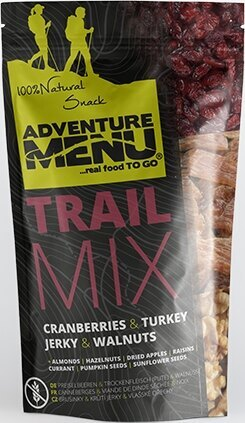 Adventure Menu® - Trail Mix 100g - Brusnica, morčacie mäso, pecan