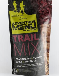 Adventure Menu® - Trail Mix 50g - Brusnica, morčacie mäso, pecan