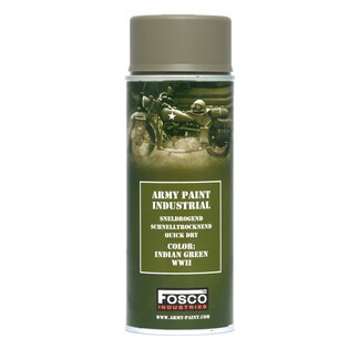 Barva ARMY ve spreji 400 ml FOSCO® - Indian Green WWII