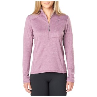 Dámská mikina 5.11 Tactical® Glacier Half Zip - Plum Neather