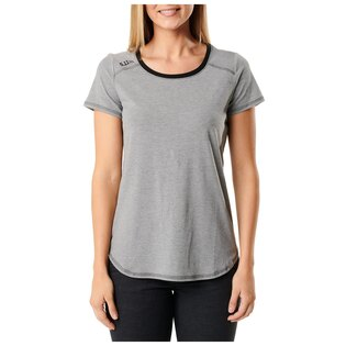 Dámské tričko 5.11 Tactical® Freya Top - Black Heather