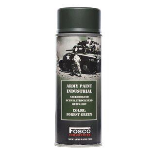 Farba ARMY v spreji 400 ml FOSCO® - Forest Green